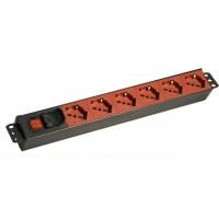 MPP 6P ROSSA – Interruttore Luminoso Bipolare - Struttura PVC V0