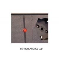 PDU 7P – LED presenza rete - Struttura PVC V0